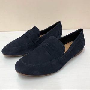 COPY - Vagabond Navy Suede loafers 40/10